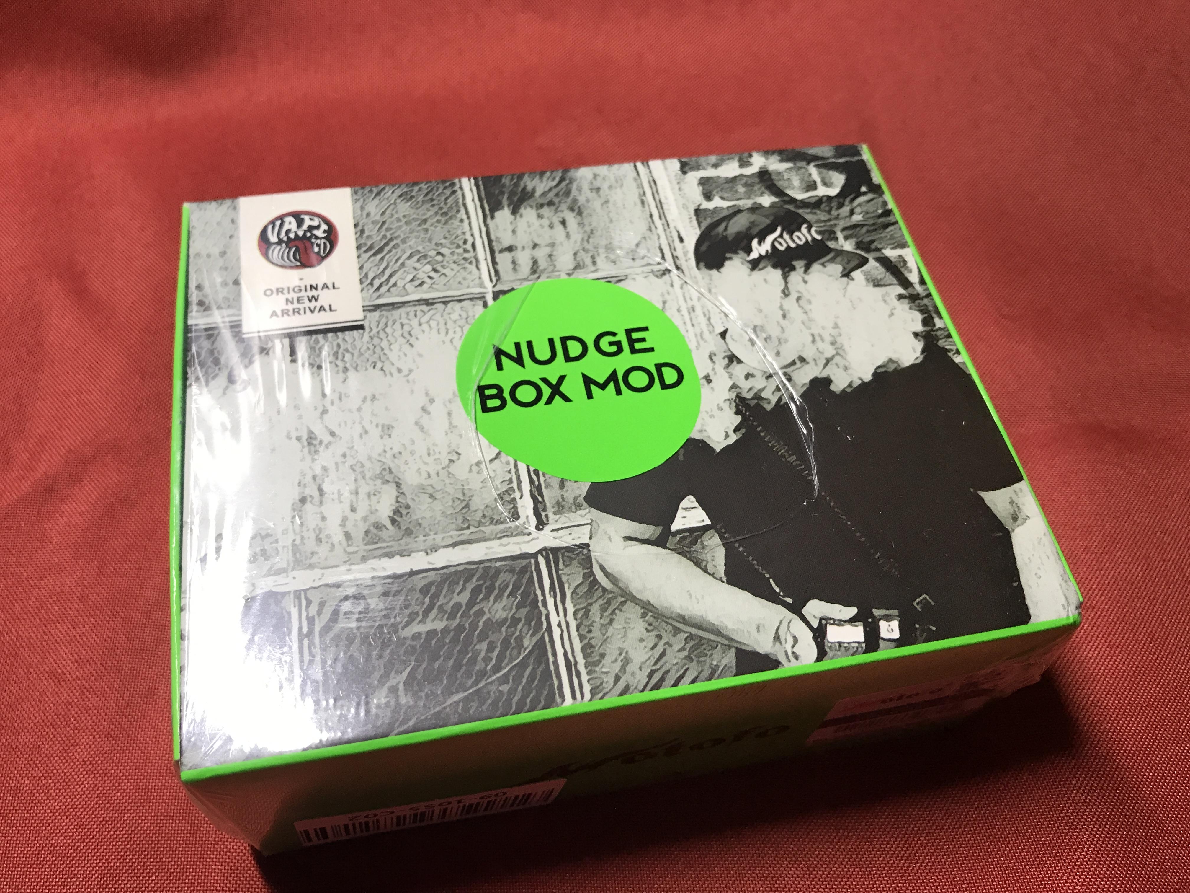 Wotofo NUDGE BOX MODを買ってみた