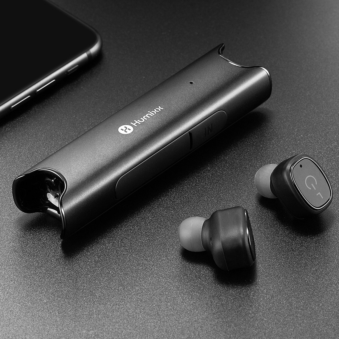レビュー【モバイルバッテリーにもなるイヤホン】Humixx S2 Bluetooth完全ワイヤレスイヤホン