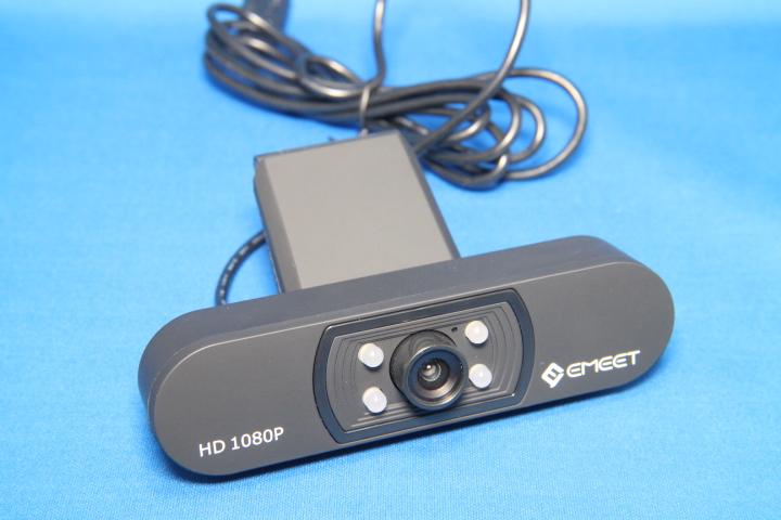 レビュー【高画質・高性能】eMeet WEBカメラ C800