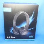 レビュー【コンパクト・高音質・低価格】SoundPEATS A1 Pro Bluetooth ヘッドホン