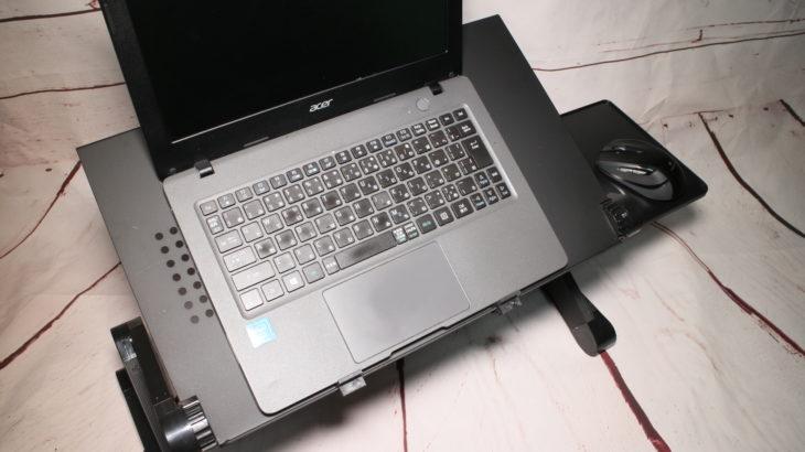 レビュー【角度調整自由自在】Dpower 折りたたみ式ノートPCスタンド