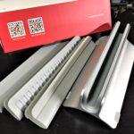 アルミ製ノートパソコン スタンド【MacBookにピッタリのデザイン】