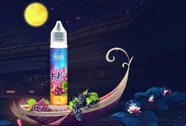 HiLIQ Fanta Grape ファンタグレープ リキッド【ただのぶどうじゃない、これはファンタだ!】