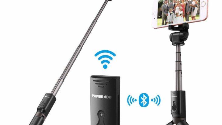 Poweradd Bluetooth 自撮り棒【進化した万能セルカ棒】