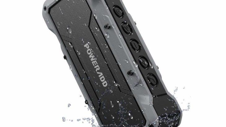 Poweradd ワイヤレスBluetoothスピーカー【IPX7の防水と大迫力の音質】