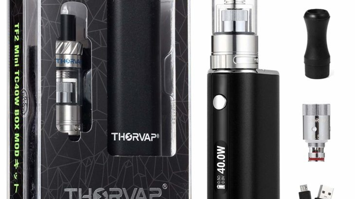 THORVAP Ebox 40W TF2 スターターキット