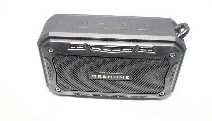 Grehome Bluetoothスピーカー【ちょうどいいサイズのポータブルスピーカー】