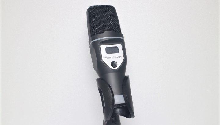 LINGCDA USB式ワイヤレスコンデンサーマイク【無線で配線の煩わしさを解消】