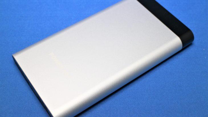 Poweradd Vigor II モバイルバッテリー 10000mAh【Lightningで充電出来る】
