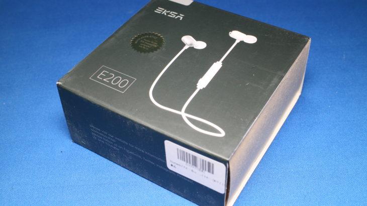 EKSA Bluetoothイヤホン E200【AAC & APT-Xコーデック対応の防水イヤホン】