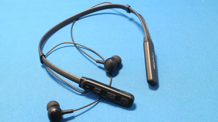 IGOKU Bluetooth スポーツイヤホン【安定性のある防水ネックバンド型】