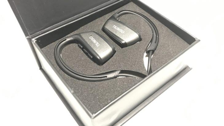Tiumso Bluetooth イヤホン【高い安定性と防水性能】