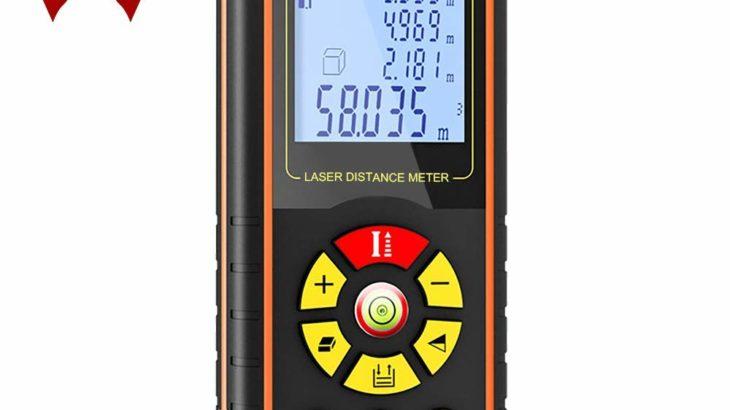 Joso レーザー距離計  距離測定器【レーザーで簡単正確に距離を計測】