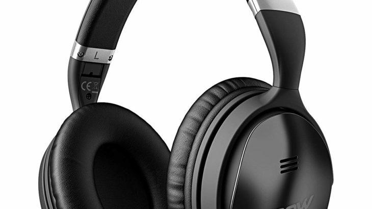 Mpow H5 Bluetooth ヘッドホン MP-BH143AB【18時間連続再生 密閉型ヘッドホン】