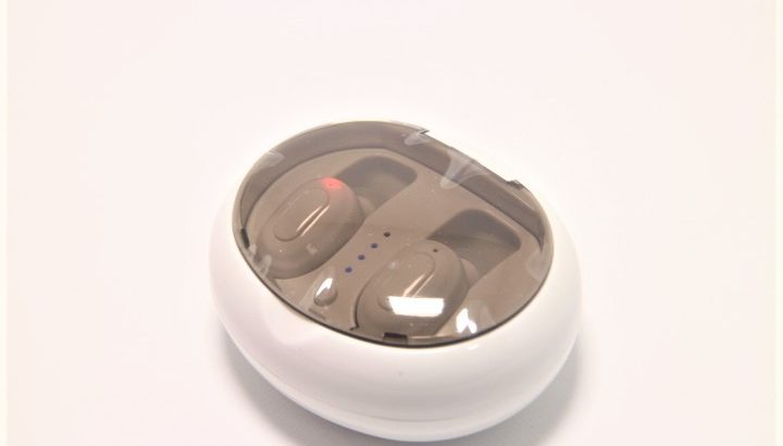 Bluetooth 4.2 完全ワイヤレスイヤホン【ケーブルが無い左右分離型】