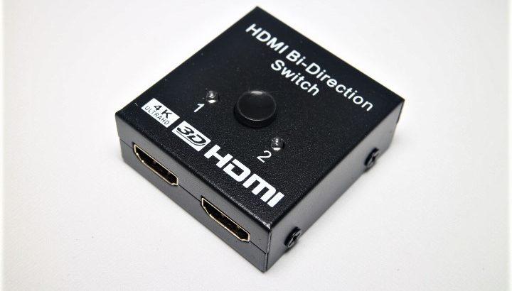 GANA HDMI切替器 双方向セレクター【1000円で4K/3D/1080p対応】