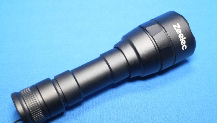 Zeelec FL7 LED懐中電灯 LEDライト【18650電池使用で高光度】