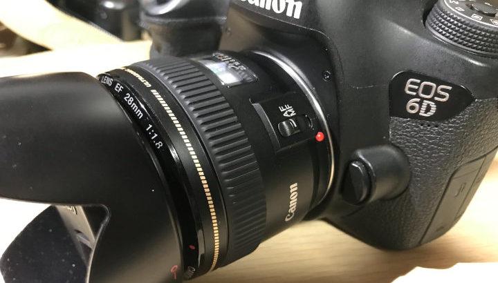 【軽い明るい】Canon EF28mm F1.8 USM【使いやすい広角単焦点】